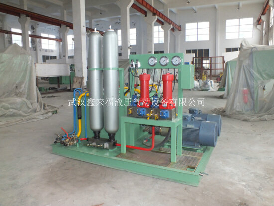 1850 rewinding machine hydraulic system, collection hydraulic system
