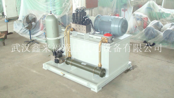 Hydraulic station of wheel casting machine, hydraulic station of sewage hydraulic foaming machine