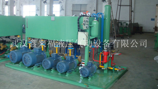 Hydraulic station of aluminum foil rolling mill, hydraulic station of slitting machine