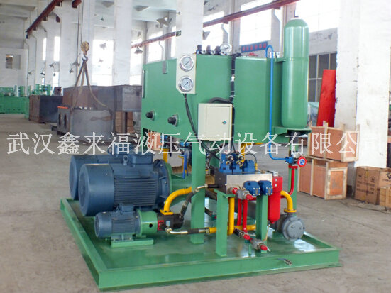 Hydraulic station system, 1650 cold rolling mill hydraulic station system