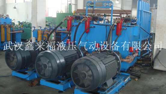 Hydraulic station design, 1450 cold rolling mill hydraulic station