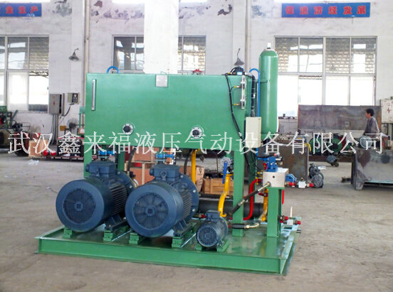 Hydraulic valve group, valve table, auxiliary pump station