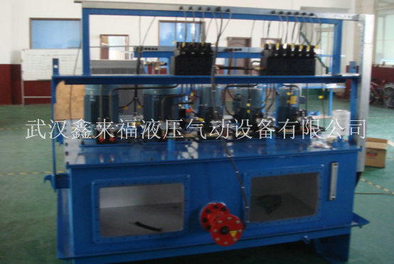 The working principle of hydraulic station